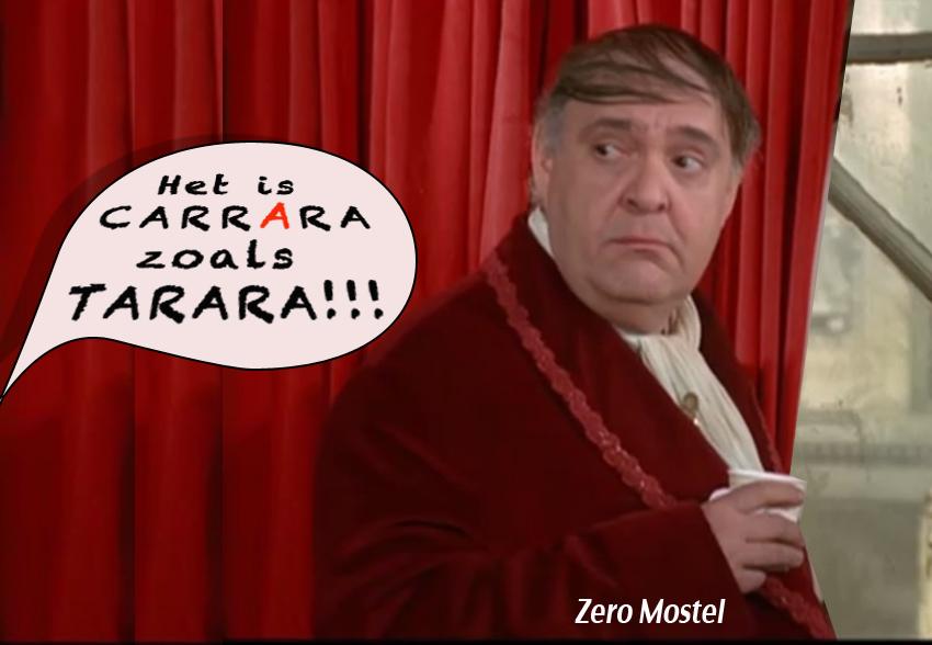 Zero Mostel - Carrara